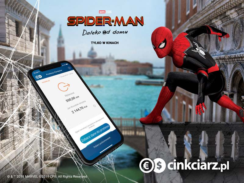 Spider Man - Daleko od domu