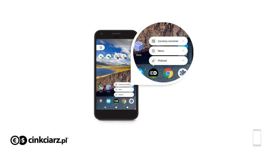 Aplikacja Cinkciarz.pl dla Android 7.1 Nougat