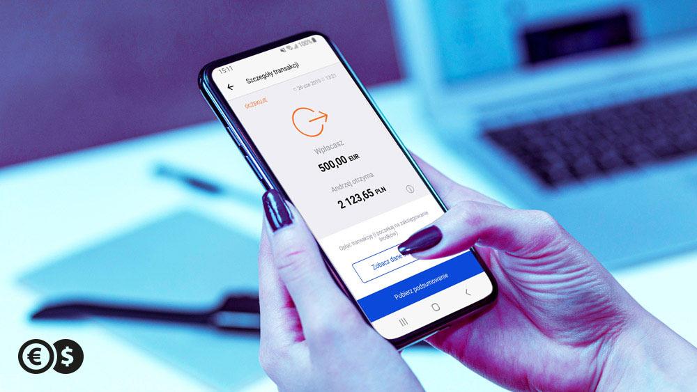 Aplikacja mobilna Przekazy Pieniężne