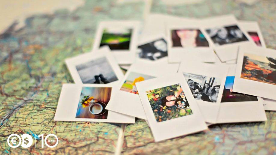 Mapa ze zdjęciami
