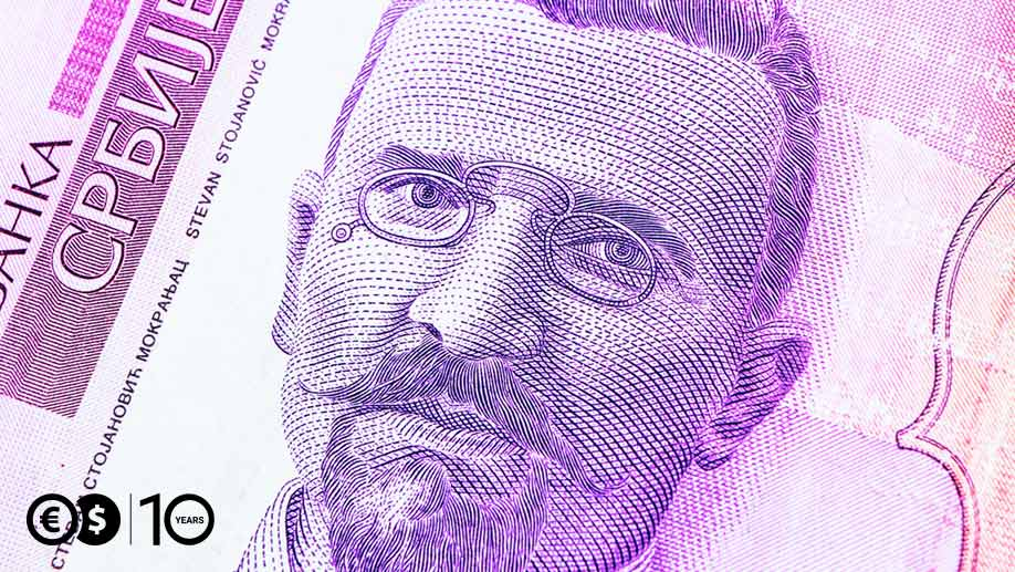 50 dinarów serbskich