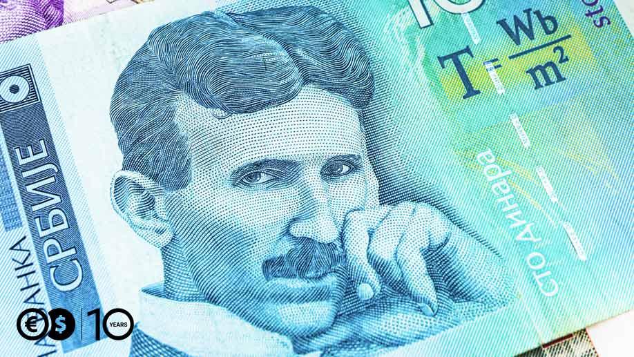 100 dinarów serbskich