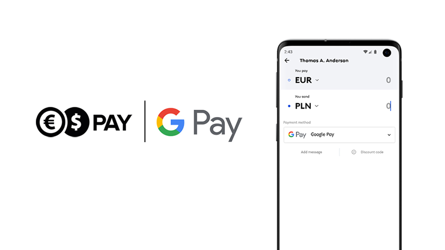 Google Pay available in Conotoxia Pay