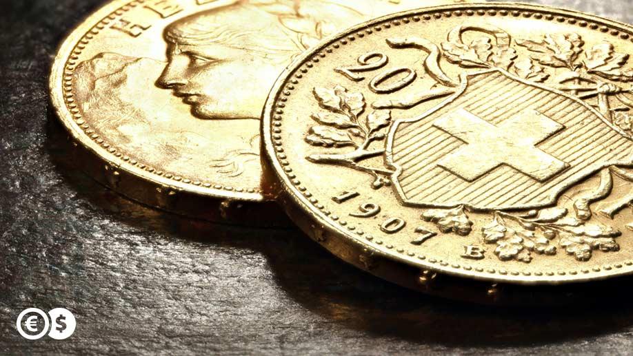 Złote monety CHF