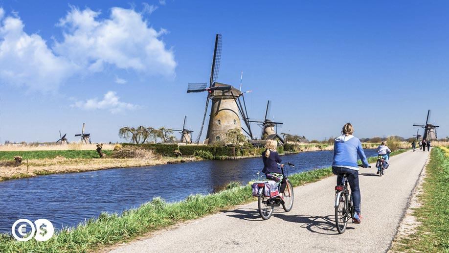 Ścieżka rowerowa w Holandii
