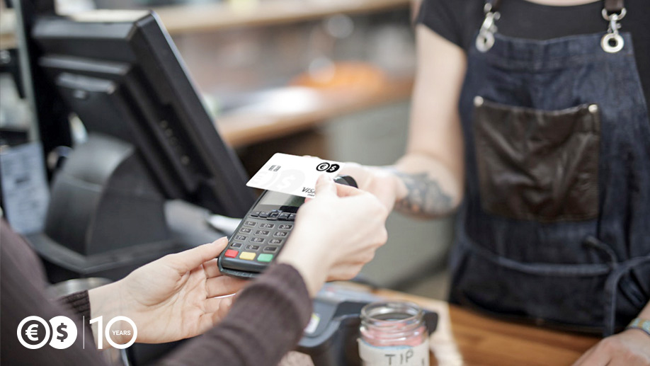 Płatność kartą wielowalutową