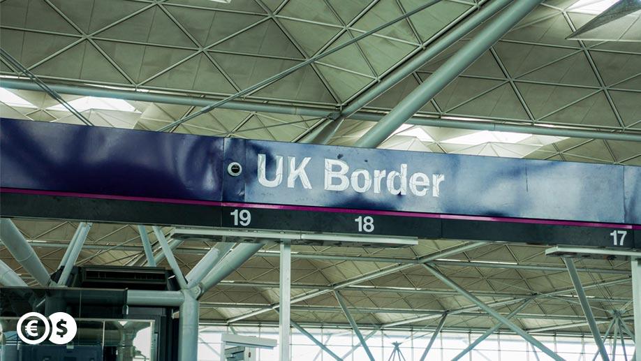 Przejście graniczne - Wielka Brytania