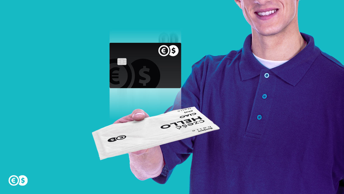 Conotoxia sends its multi-currency cards not only by post but also by courier