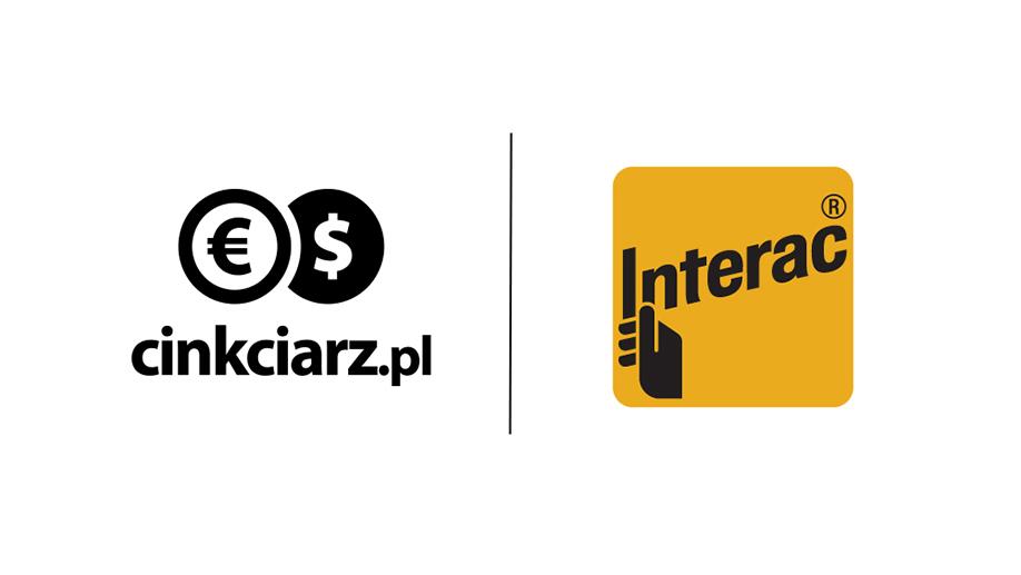 Interac Online - nowa metoda płatności w Cinkciarz.pl