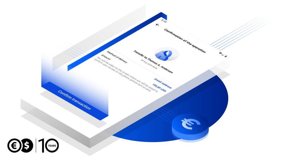 Mobile authorization at Conotoxia.com