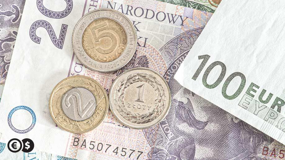 Zarobki w euro